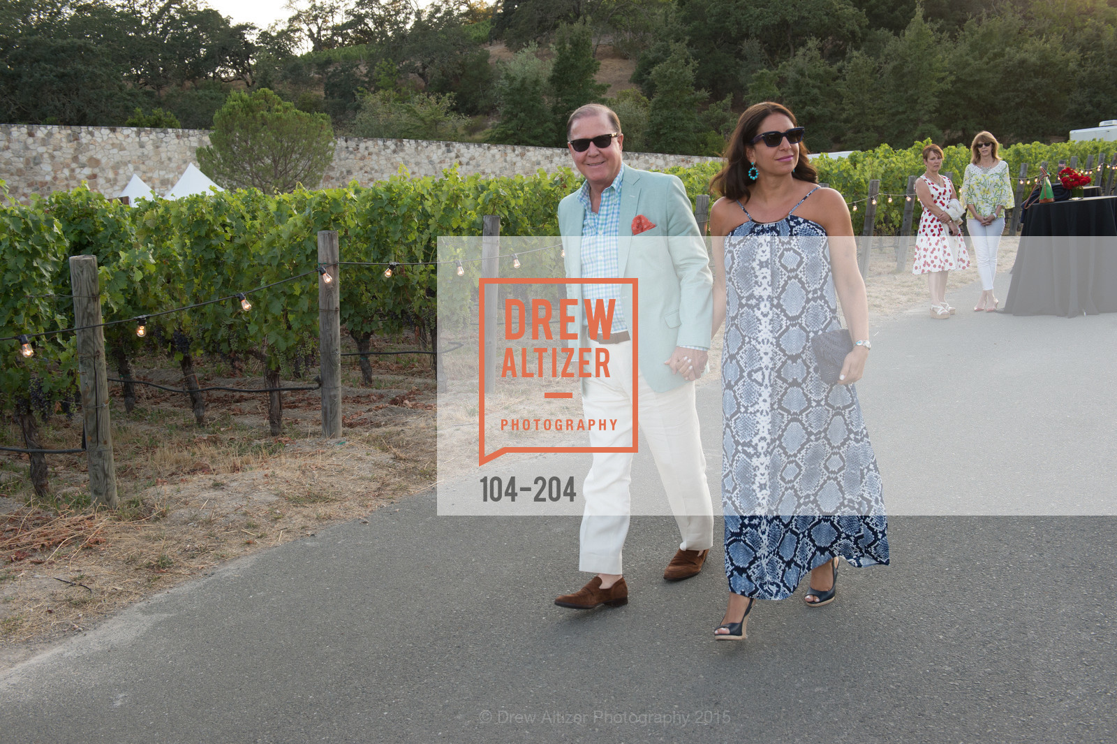 John Grotts, Lisa Grotts, Festival del Sole Patron Dinner at Quintessa, Quintessa. 1601 Silverado Trail, July 25th, 2015,Drew Altizer, Drew Altizer Photography, full-service agency, private events, San Francisco photographer, photographer california
