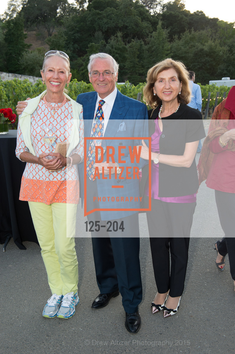Nina Wemyss, Antonio Castellucci, Rita Castellucci, Festival del Sole Patron Dinner at Quintessa, Quintessa. 1601 Silverado Trail, July 25th, 2015,Drew Altizer, Drew Altizer Photography, full-service agency, private events, San Francisco photographer, photographer california