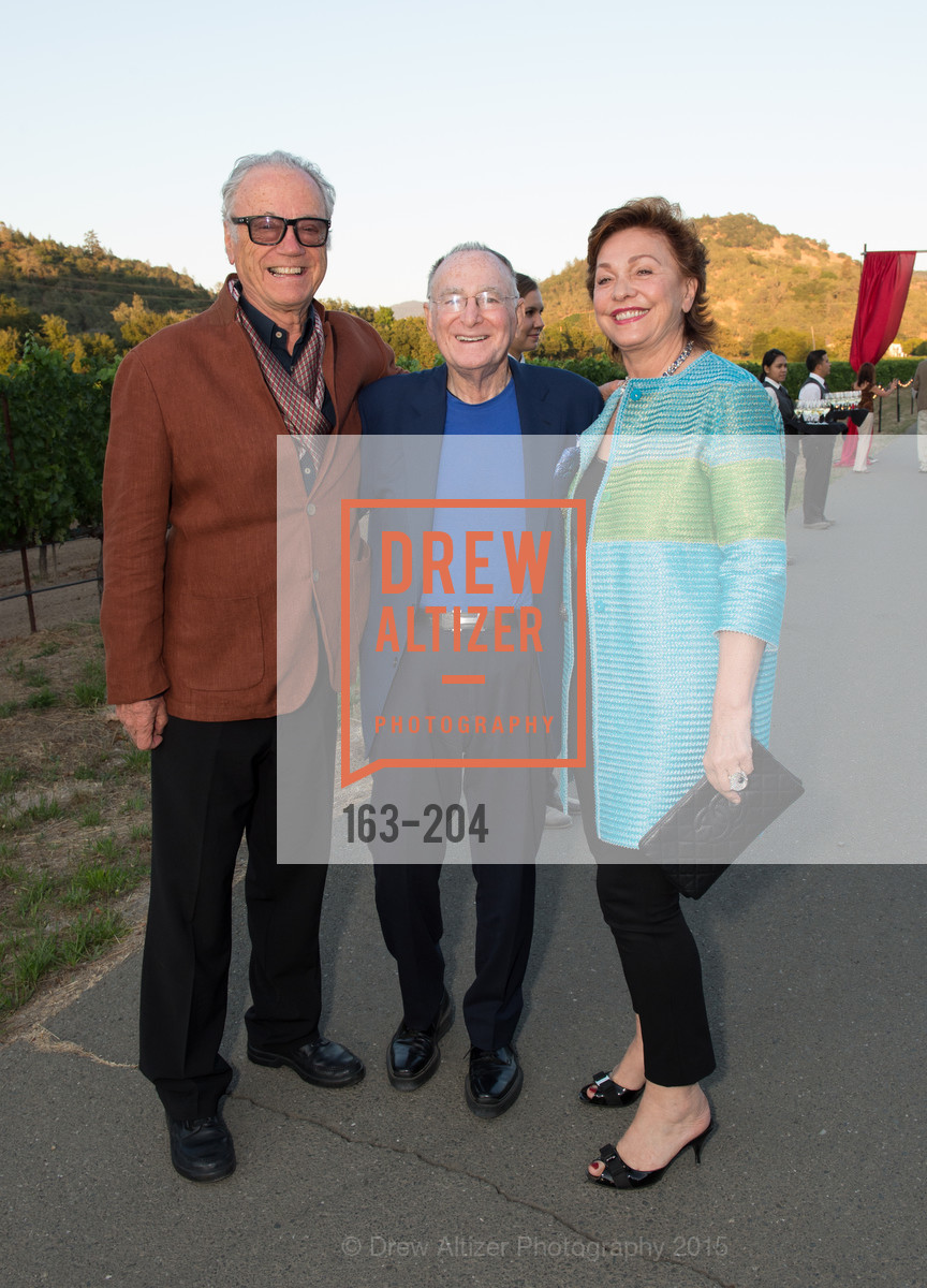 Agustin Huneeus, Jan Shrem, Maria Manetti Shrem, Festival del Sole Patron Dinner at Quintessa, Quintessa. 1601 Silverado Trail, July 25th, 2015,Drew Altizer, Drew Altizer Photography, full-service event agency, private events, San Francisco photographer, photographer California