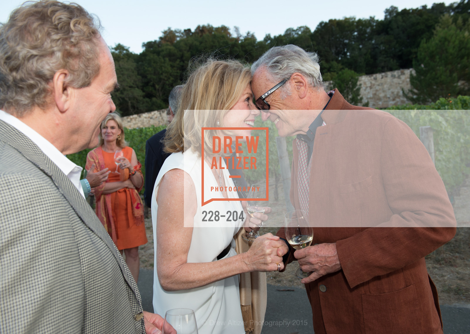 Kay Fike, Agustin Huneeus, Festival del Sole Patron Dinner at Quintessa, Quintessa. 1601 Silverado Trail, July 25th, 2015,Drew Altizer, Drew Altizer Photography, full-service agency, private events, San Francisco photographer, photographer california
