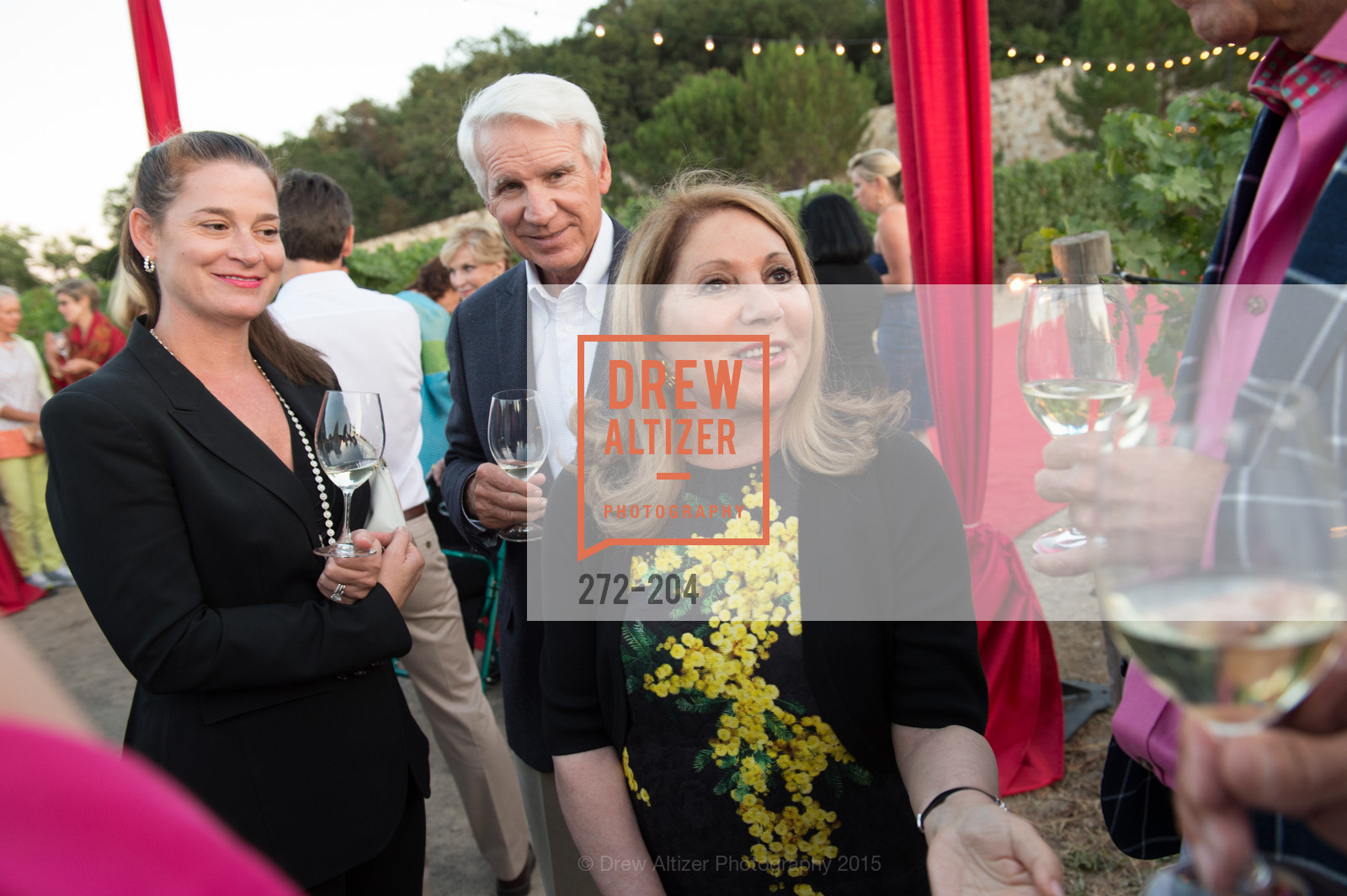 Claire Stull, Timothy Blackburn, Athena Blackburn, Festival del Sole Patron Dinner at Quintessa, Quintessa. 1601 Silverado Trail, July 25th, 2015,Drew Altizer, Drew Altizer Photography, full-service event agency, private events, San Francisco photographer, photographer California