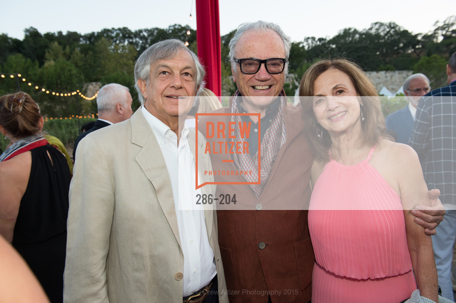 Simon Guendelman, Agustin Huneeus, Sylvia Guendelman, Festival del Sole Patron Dinner at Quintessa, Quintessa. 1601 Silverado Trail, July 25th, 2015,Drew Altizer, Drew Altizer Photography, full-service agency, private events, San Francisco photographer, photographer california