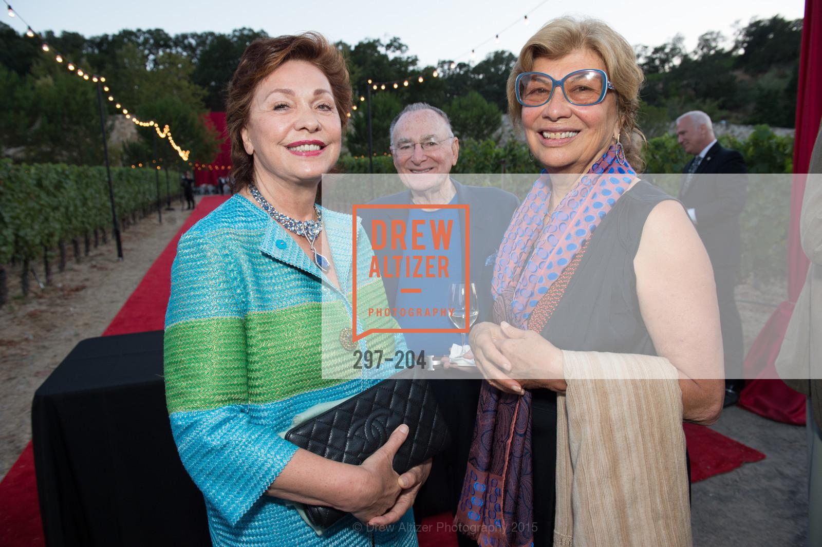 Maria Manetti Shrem, Jan Shrem, Valeria Huneeus, Photo #297-204