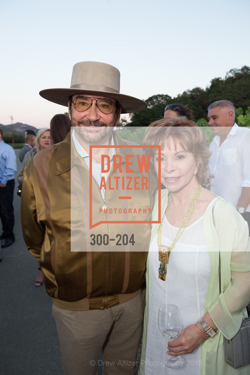 Jose Luis Nazar, Isabel Allende, Festival del Sole Patron Dinner at Quintessa, Quintessa. 1601 Silverado Trail, July 25th, 2015,Drew Altizer, Drew Altizer Photography, full-service agency, private events, San Francisco photographer, photographer california