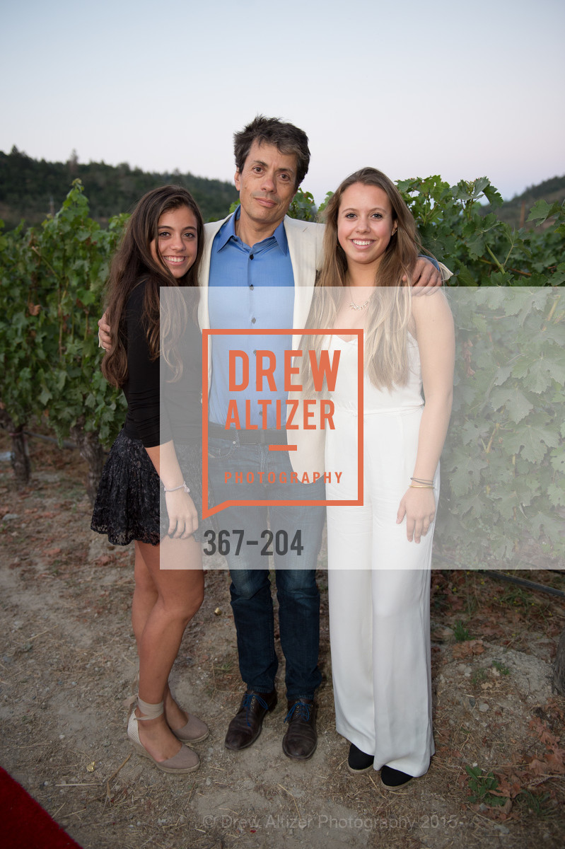 Agustina Huneeus, Agustin Huneeus Jr., Antonia Huneeus, Festival del Sole Patron Dinner at Quintessa, Quintessa. 1601 Silverado Trail, July 25th, 2015,Drew Altizer, Drew Altizer Photography, full-service agency, private events, San Francisco photographer, photographer california