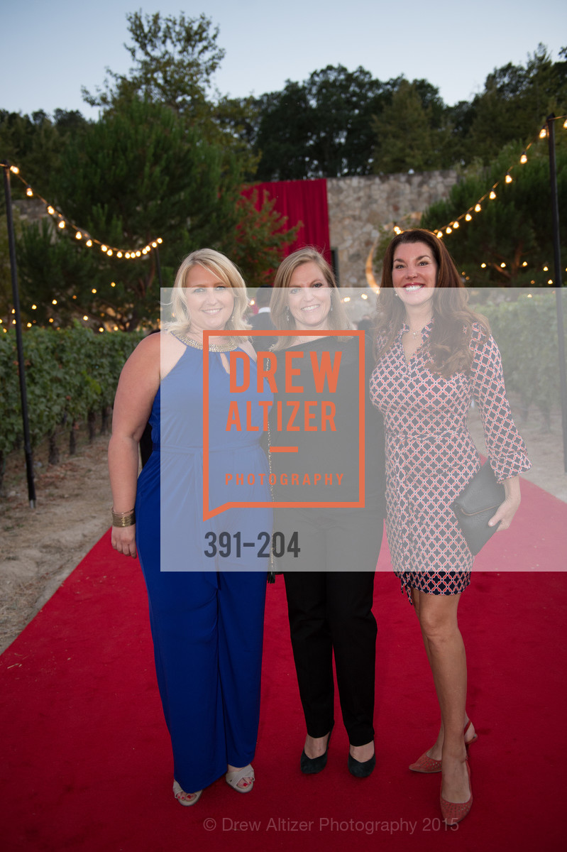 Sonia Tolbert, Linnea Pearson, Michelle Baggett, Festival del Sole Patron Dinner at Quintessa, Quintessa. 1601 Silverado Trail, July 25th, 2015,Drew Altizer, Drew Altizer Photography, full-service agency, private events, San Francisco photographer, photographer california