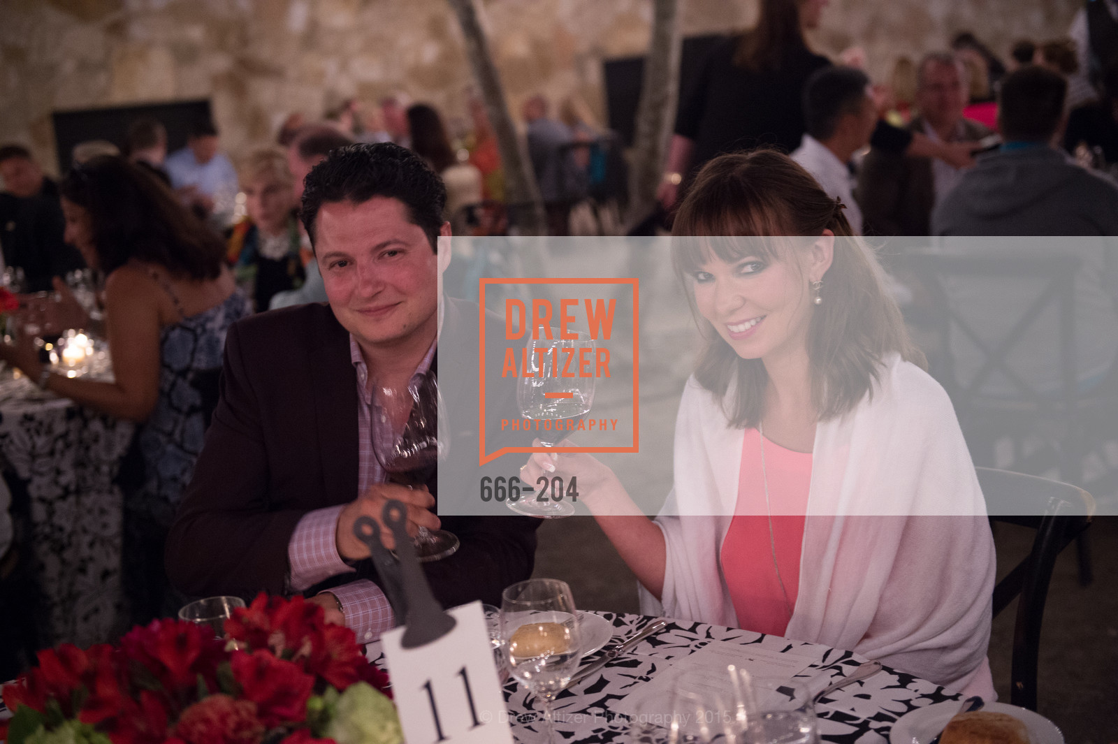 Serge Troxel, Olya Troxel, Festival del Sole Patron Dinner at Quintessa, Quintessa. 1601 Silverado Trail, July 25th, 2015,Drew Altizer, Drew Altizer Photography, full-service agency, private events, San Francisco photographer, photographer california