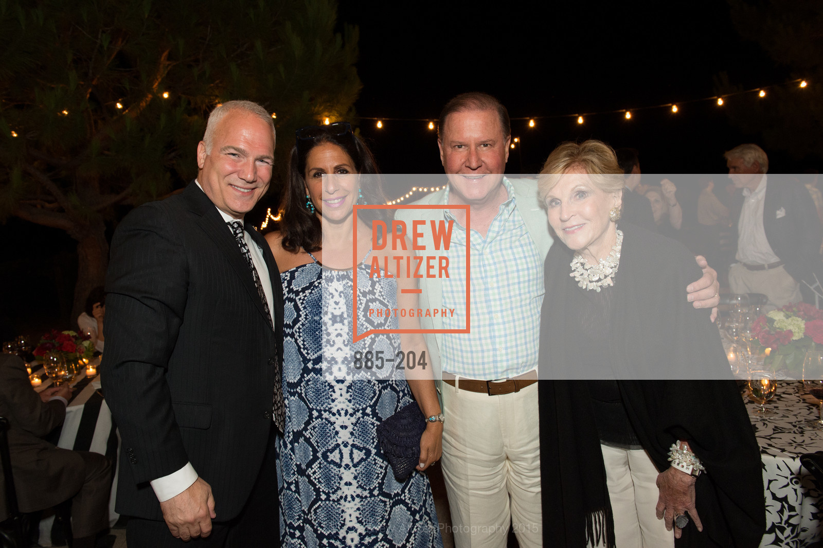 Franc D'Ambrosio, Lisa Grotts, John Grotts, Lois Lehrman, Festival del Sole Patron Dinner at Quintessa, Quintessa. 1601 Silverado Trail, July 25th, 2015,Drew Altizer, Drew Altizer Photography, full-service agency, private events, San Francisco photographer, photographer california