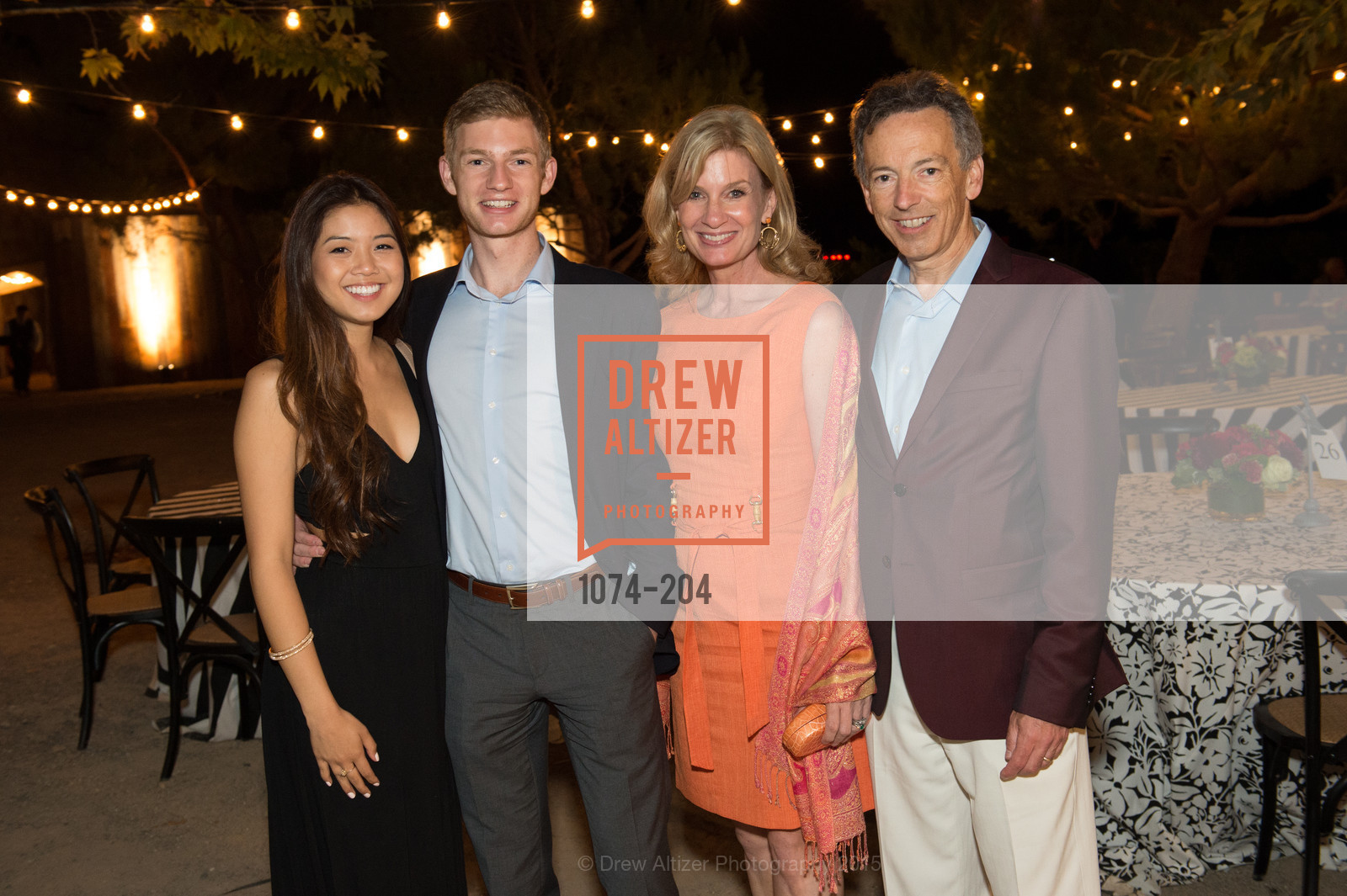 Mai Nguyen, Kevin Walker, Karen Walker, Rick Walker, Festival del Sole Patron Dinner at Quintessa, Quintessa. 1601 Silverado Trail, July 25th, 2015,Drew Altizer, Drew Altizer Photography, full-service agency, private events, San Francisco photographer, photographer california