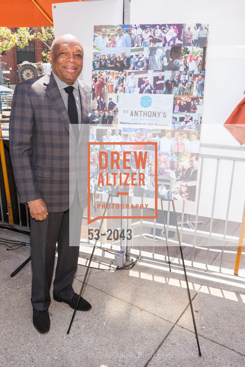 Willie Brown, St. Anthony's 40th Annual Penny Pitch 2017, Momo's. 760 2nd St.  San Francisco , California 94107, April 21st, 2017