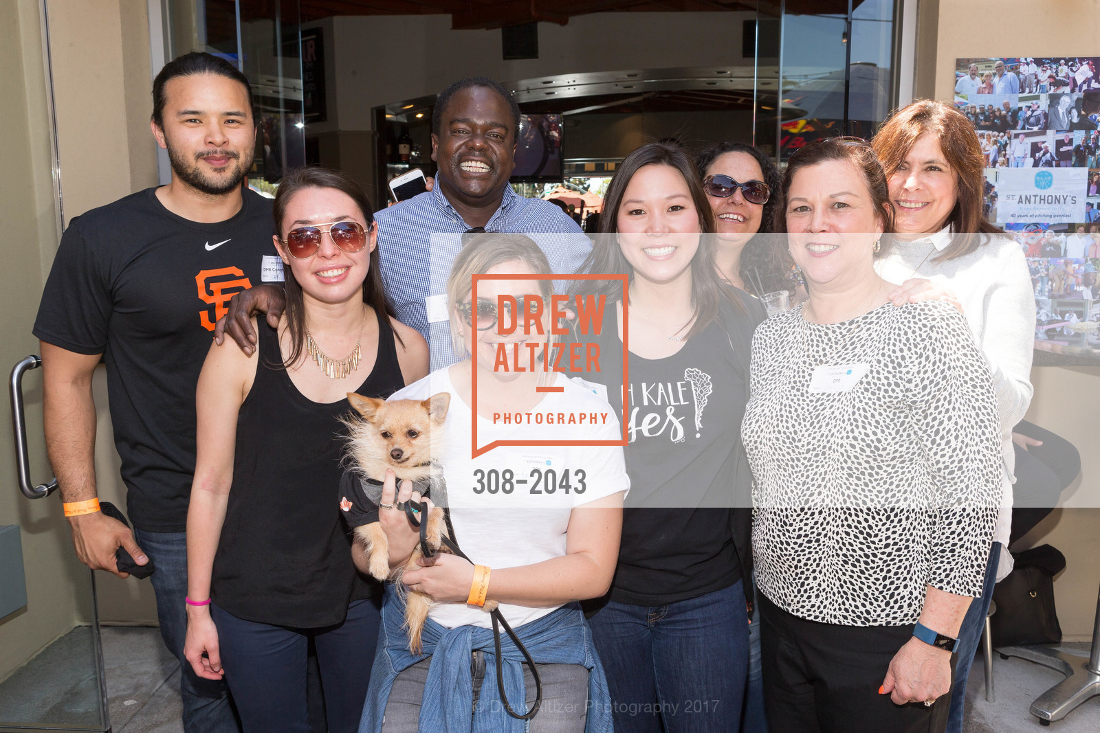 Chris Lejano, Megan Cane, Truman Burke, Rachel Whidlack, Esther Lam, Patricia Palomares, Christina Hayman, Caroline Johnson, St. Anthony's 40th Annual Penny Pitch 2017, Momo's. 760 2nd St.  San Francisco , California 94107, April 21st, 2017