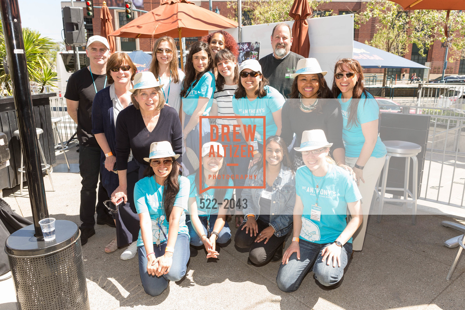 Group Photo, St. Anthony's 40th Annual Penny Pitch 2017, Momo's. 760 2nd St.  San Francisco , California 94107, April 21st, 2017