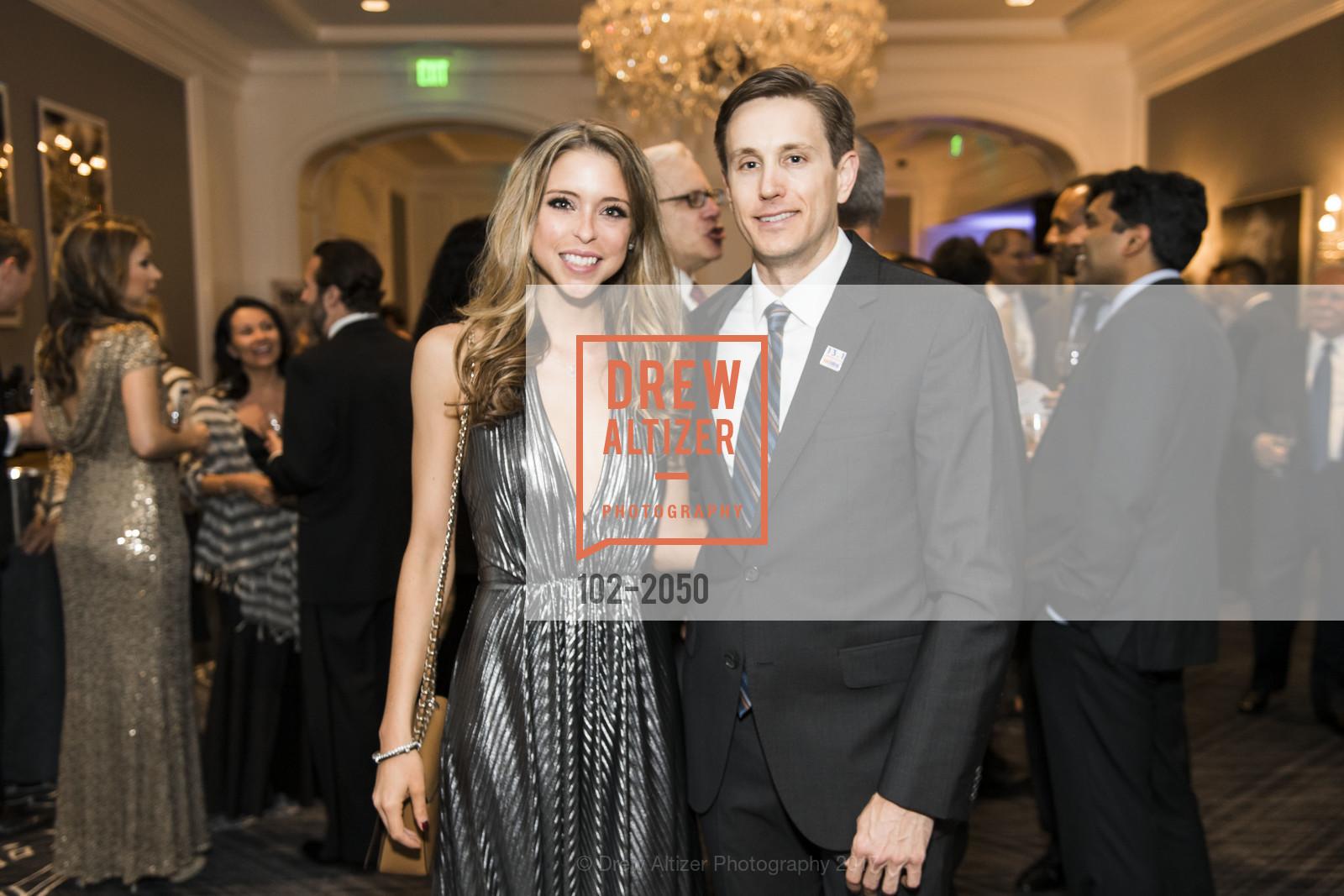 Suzanne Alvarez, John Whipple, 20th Annual California Wine Classic, Ritz Carlton Hotel. 600 Stockton St, April 21st, 2017