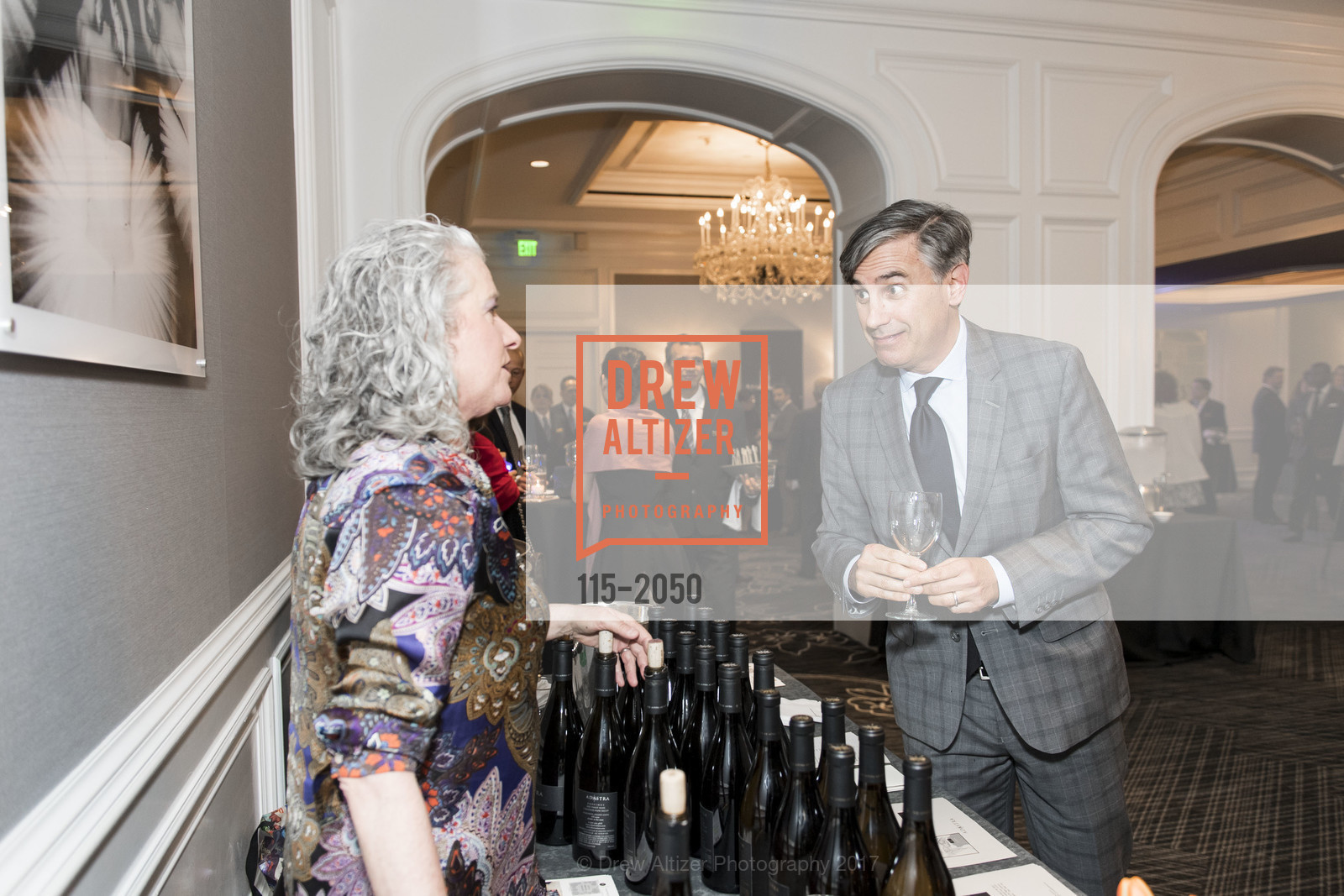 Atmosphere, 20th Annual California Wine Classic, Ritz Carlton Hotel. 600 Stockton St, April 21st, 2017