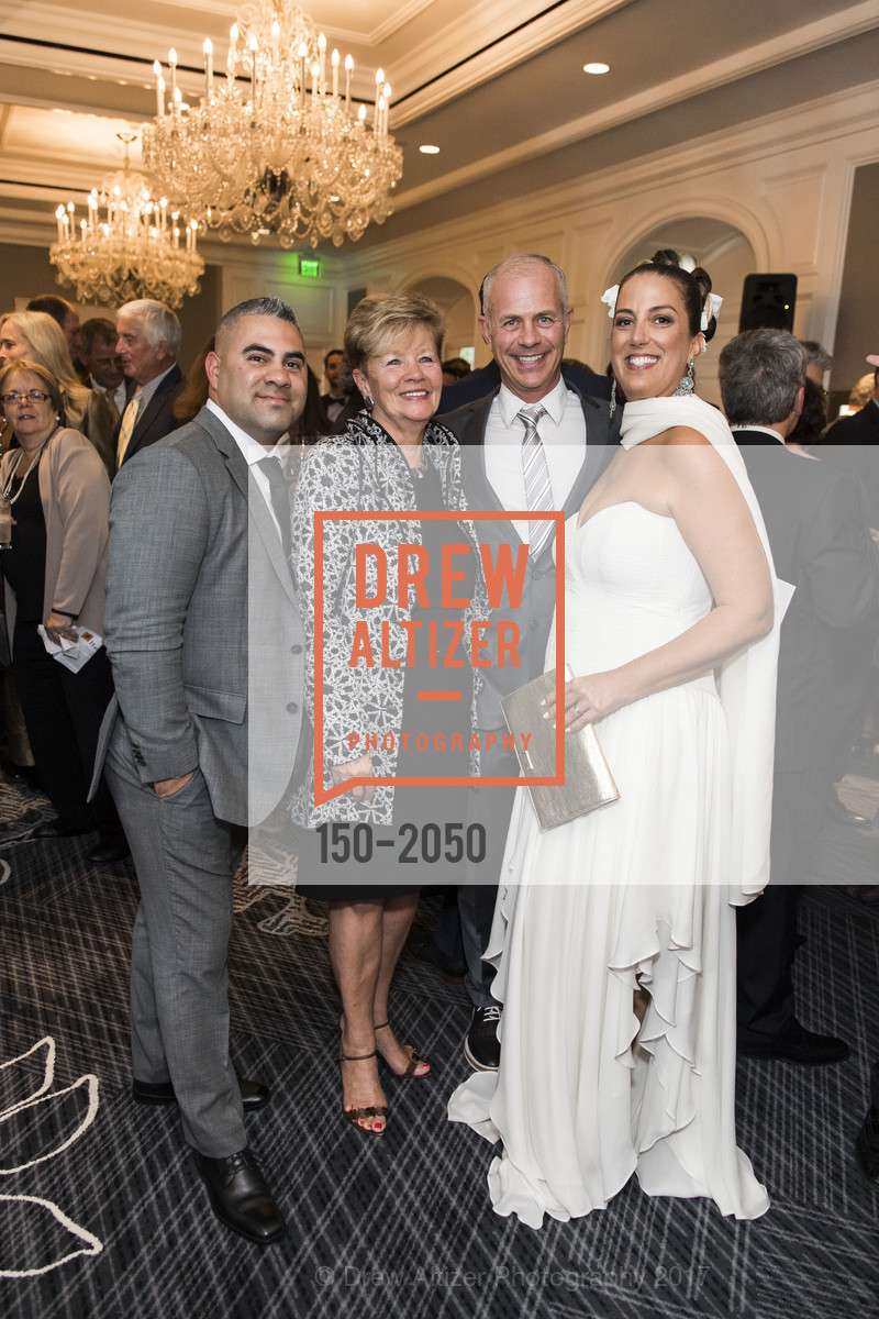 Raul Rodriguez, Christiane Levaque-Lemay, Mario Lemay, Jan Reicher, 20th Annual California Wine Classic, Ritz Carlton Hotel. 600 Stockton St, April 21st, 2017