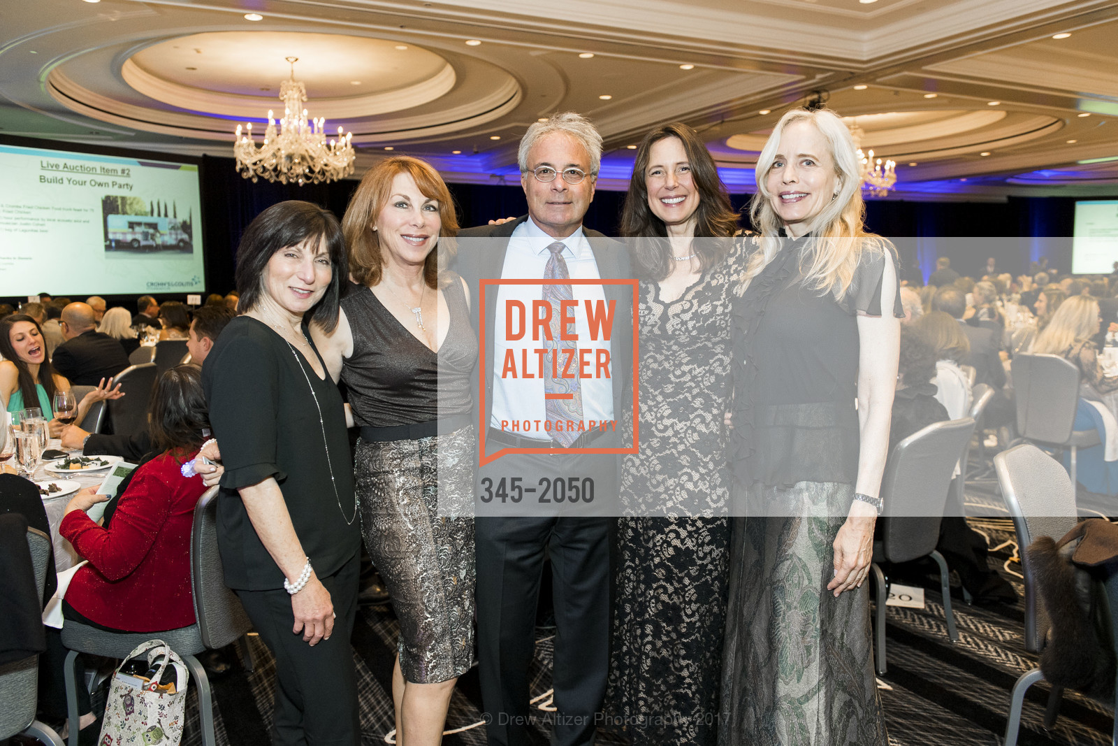 Laurie Benson, Orene Kearn, Rob Kearn, Jeanette Pavini, Lisa Weber, 20th Annual California Wine Classic, Ritz Carlton Hotel. 600 Stockton St, April 21st, 2017