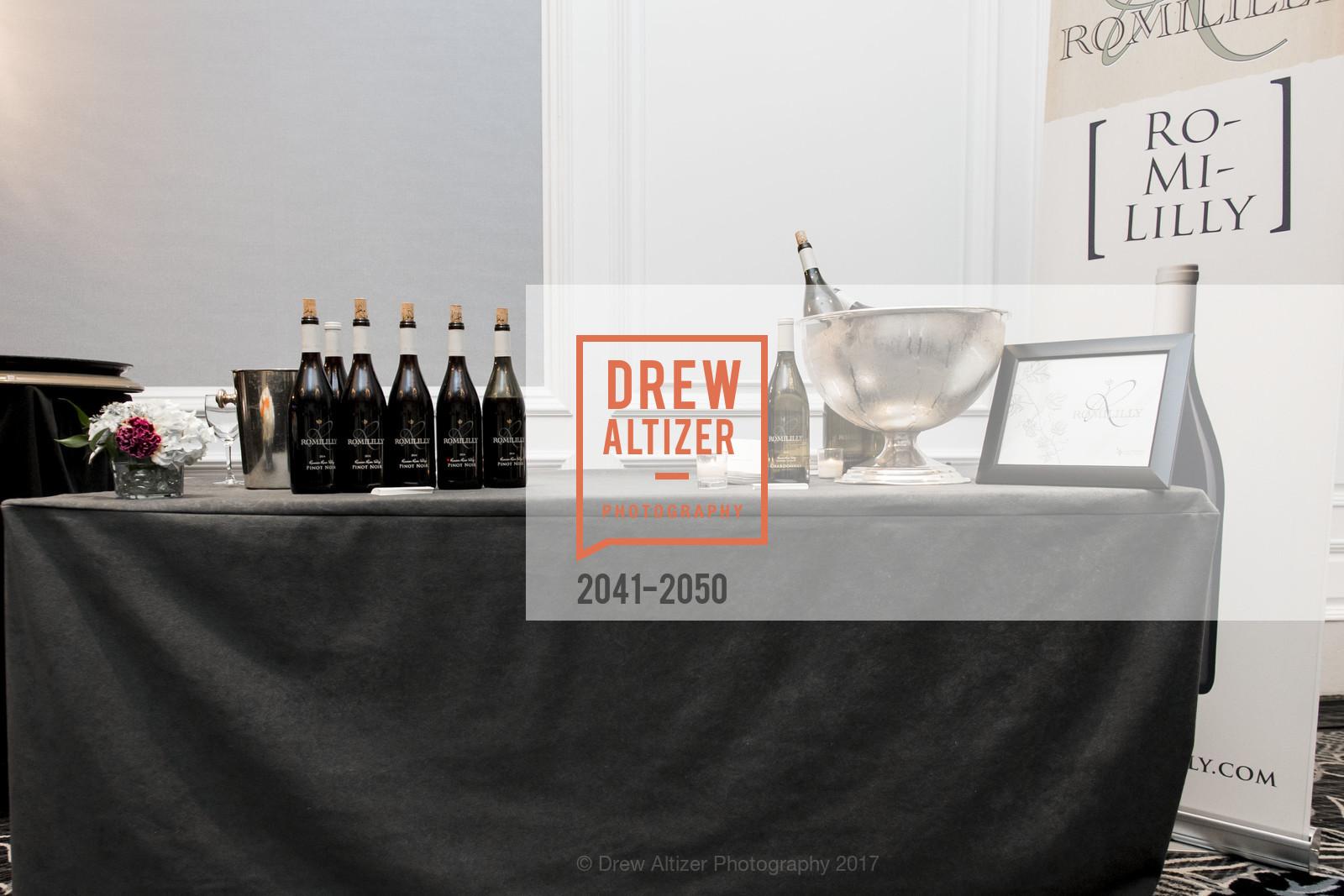 Atmosphere, 20th Annual California Wine Classic, Ritz Carlton Hotel. 600 Stockton St, April 21st, 2017