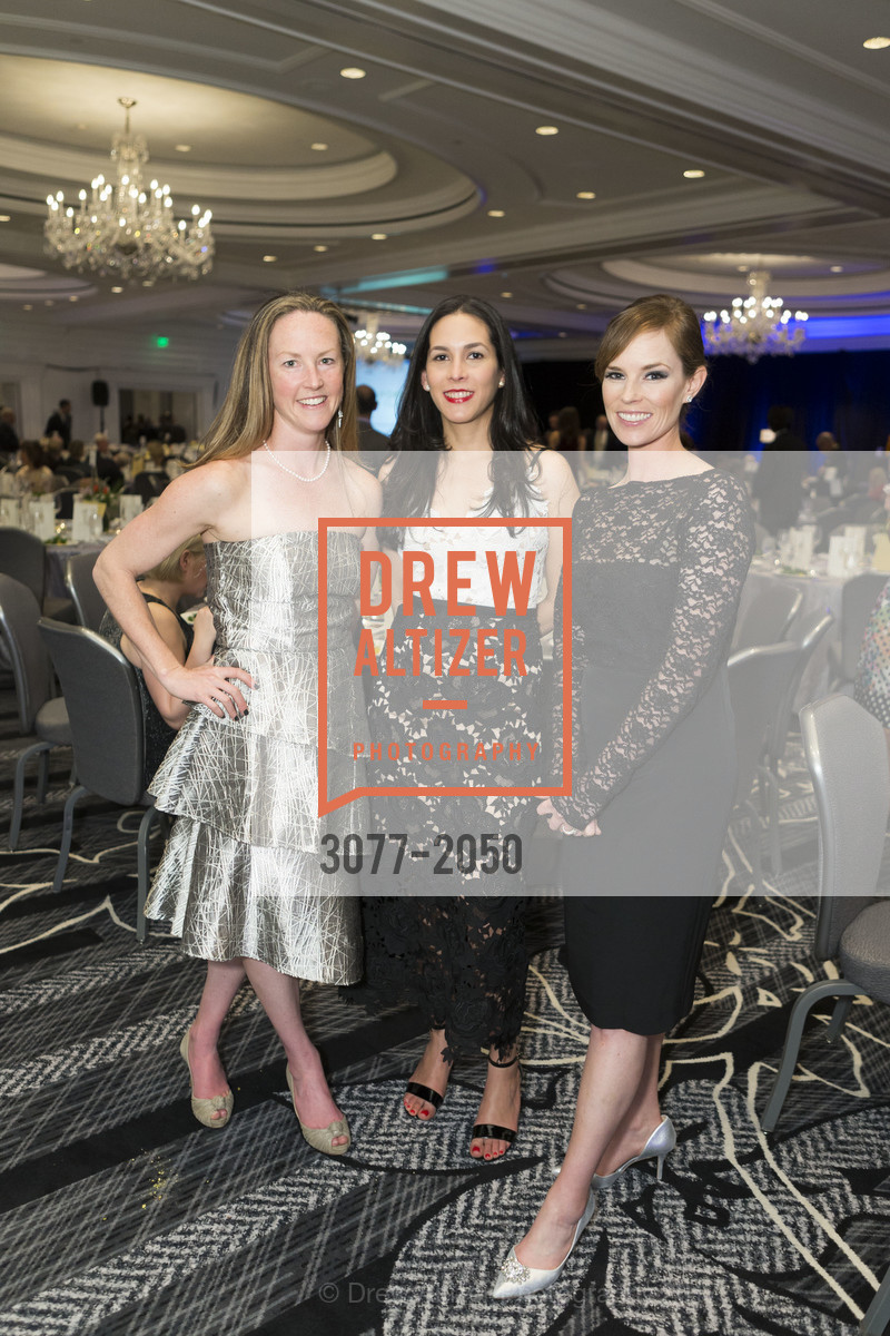 Caitlin Durling, Adrianna Mason, Heather Potts, 20th Annual California Wine Classic, Ritz Carlton Hotel. 600 Stockton St, April 21st, 2017