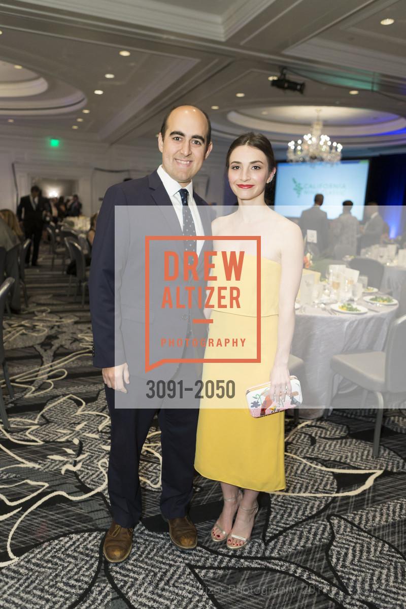Sam Fisher, Jessica Slor, 20th Annual California Wine Classic, Ritz Carlton Hotel. 600 Stockton St, April 21st, 2017