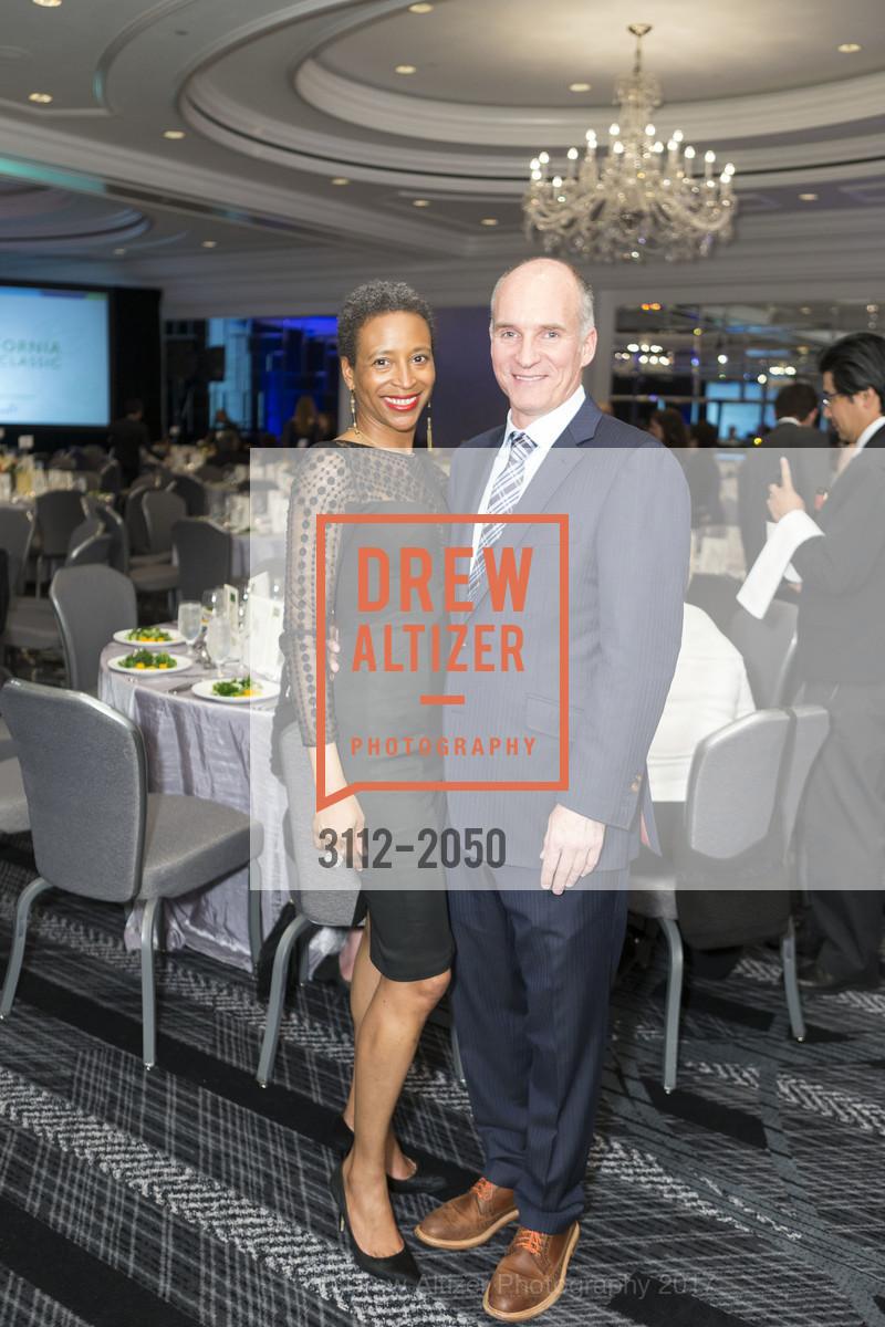 Katiti Crawford, Paul Devine, 20th Annual California Wine Classic, Ritz Carlton Hotel. 600 Stockton St, April 21st, 2017