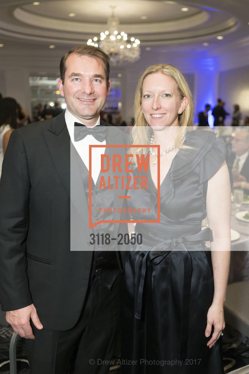 Richard Foust, Bridget Hurley, 20th Annual California Wine Classic, Ritz Carlton Hotel. 600 Stockton St, April 21st, 2017
