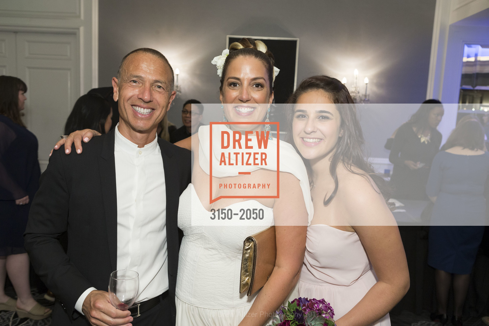 Jan Reicher, Alex Reicher-Alouf, 20th Annual California Wine Classic, Ritz Carlton Hotel. 600 Stockton St, April 21st, 2017