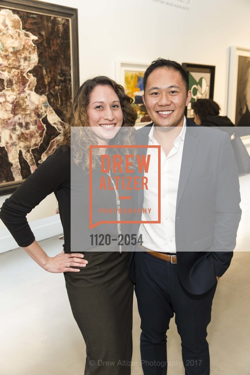 Rebecca Diaz, Jonathan Trung, Christie's Spring Tour 2017, Wendi Norris Gallery. Van 161 Jesse Street, April 20th, 2017
