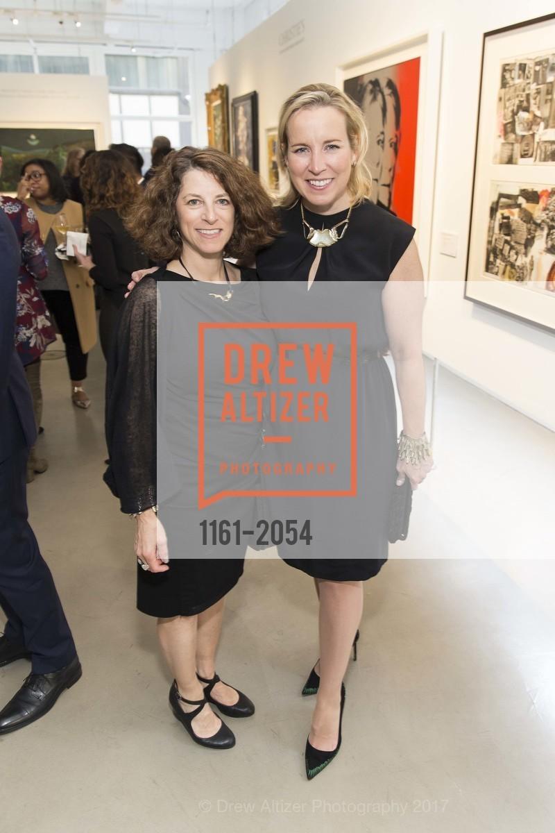 Joanne Cohen, Connie Brennan, Christie's Spring Tour 2017, Wendi Norris Gallery. Van 161 Jesse Street, April 20th, 2017