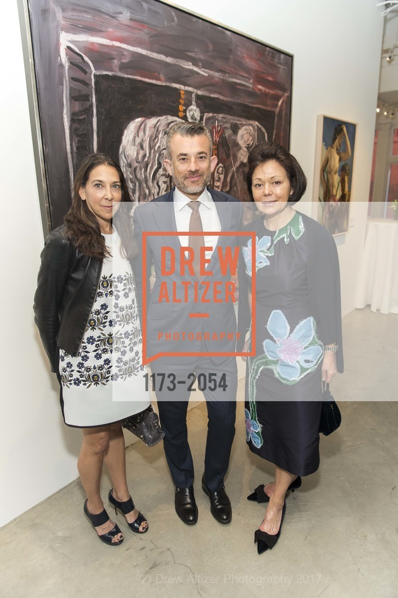 Naomi Baigell, Andrea Danese, Laura Paulson, Photo #1173-2054