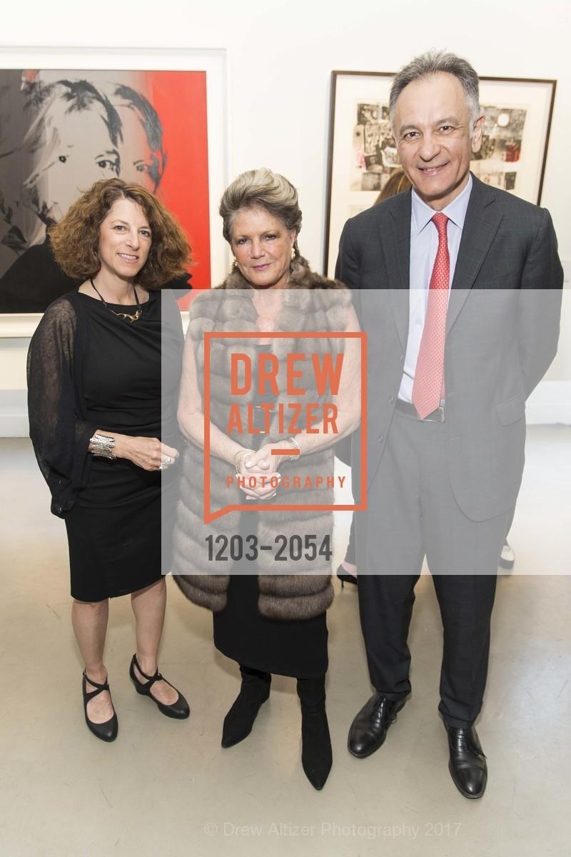 Joanne Cullens, Anita Cosgrove, Guillaume Cerutti, Christie's Spring Tour 2017, Wendi Norris Gallery. Van 161 Jesse Street, April 20th, 2017
