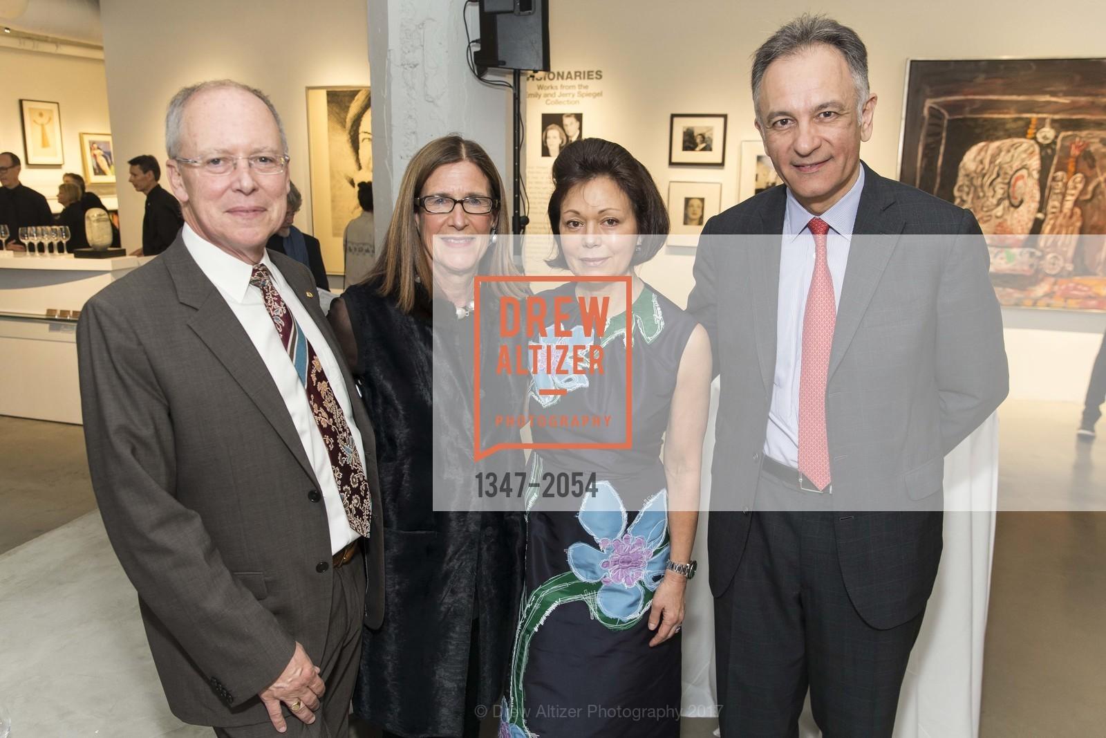 Charles Desmarais, Ellanor Notides, Laura Paulson, Guillaume Cerutti, Christie's Spring Tour 2017, Wendi Norris Gallery. Van 161 Jesse Street, April 20th, 2017