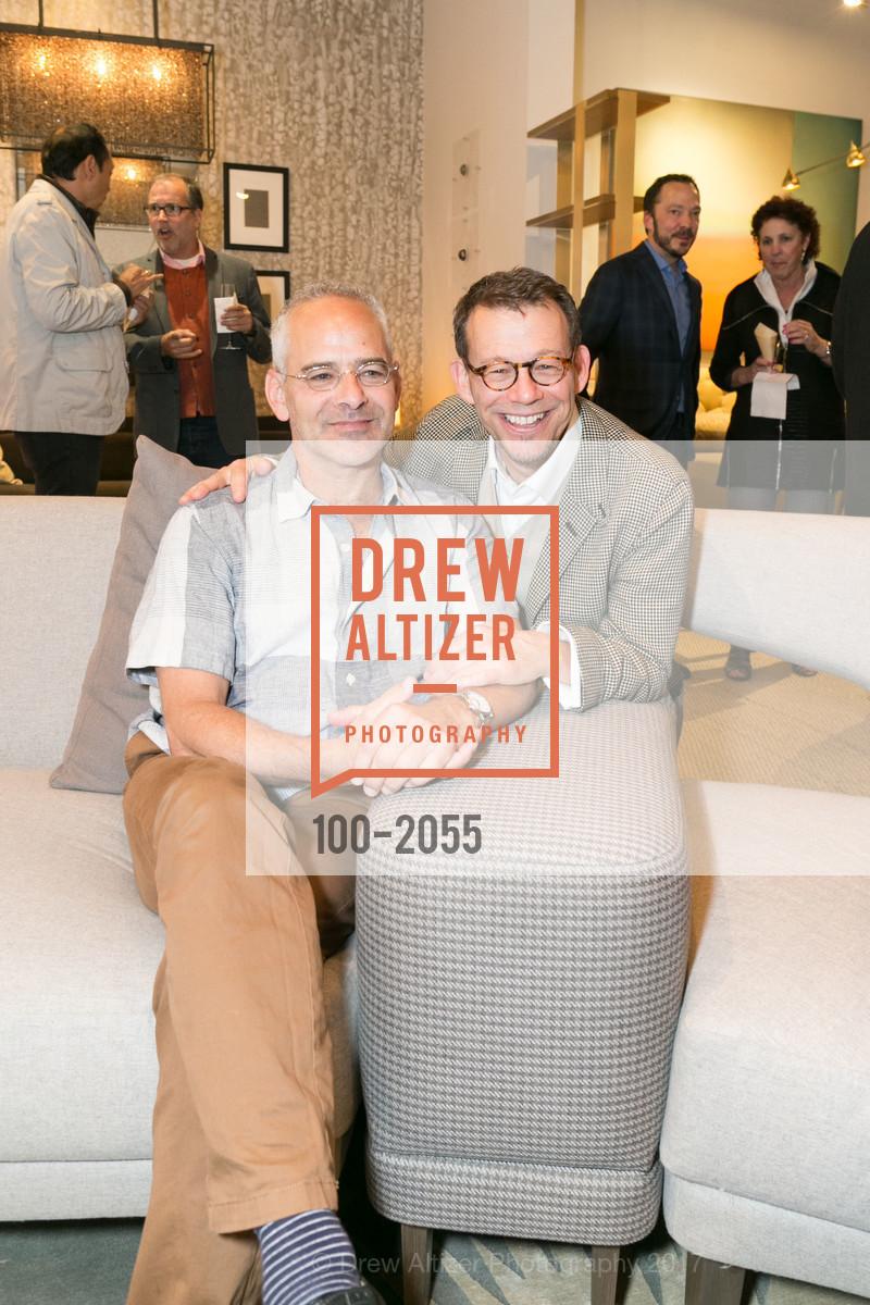 Oren Postrel, Ted Boerner, SFC&G Event at Hewn, Hewn, April 20th, 2017