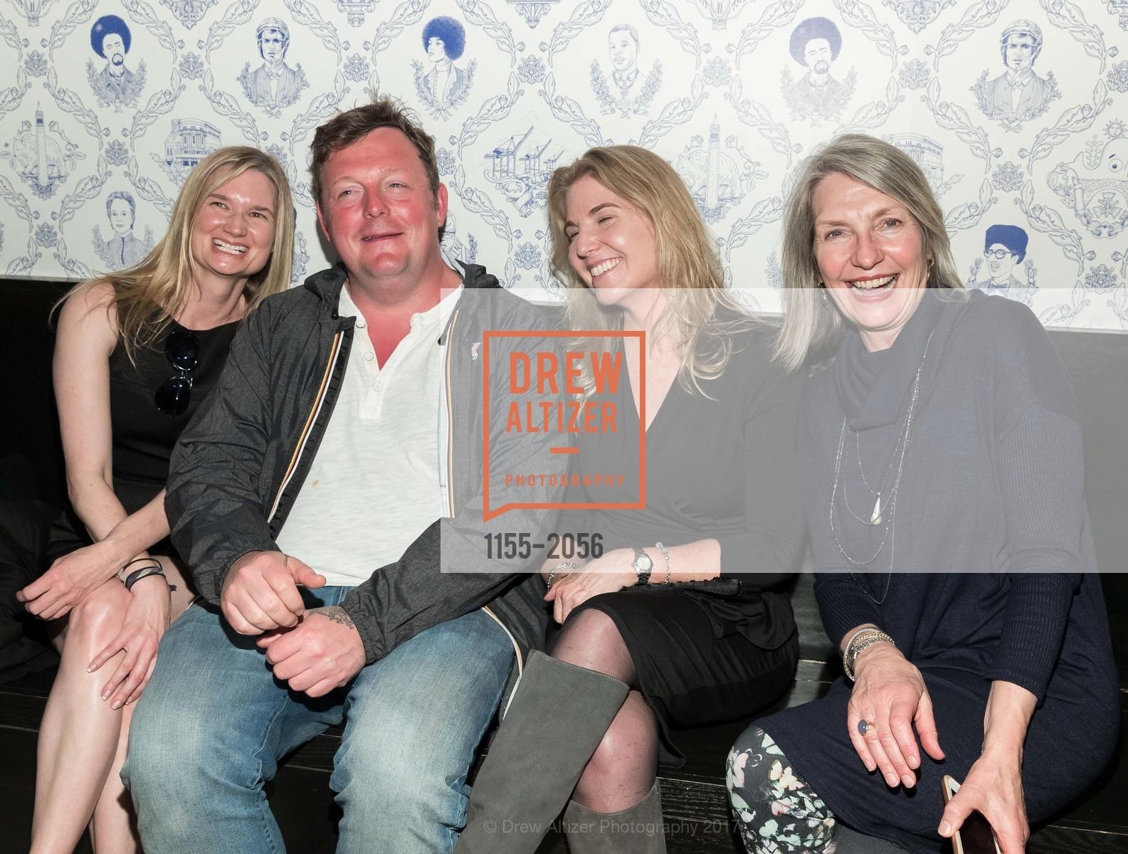 Tina Ferguson, Urs Fischer, Loretta Hillberry, Kathy Geissler Best, Photo #1155-2056