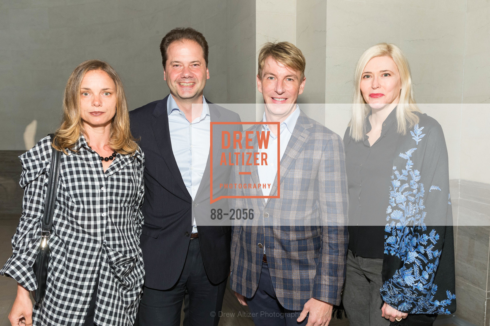 Nina Hollein, Max Hollein, Jack Calhoun, Lauren Hall, Urs Fischer Opening at the Legion of Honor and Fiorella, Legion of Honor, April 20th, 2017