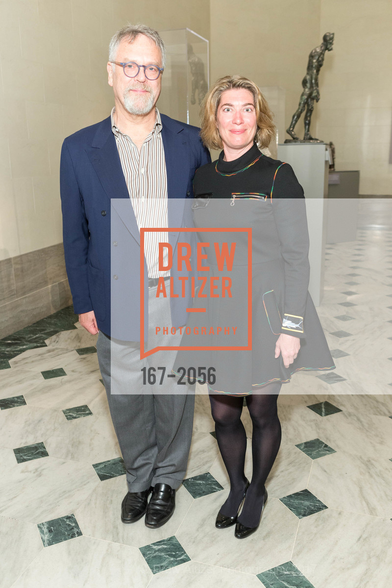 Nion McEvoy, Claudia Schmuckli, Urs Fischer Opening at the Legion of Honor and Fiorella, Legion of Honor, April 20th, 2017