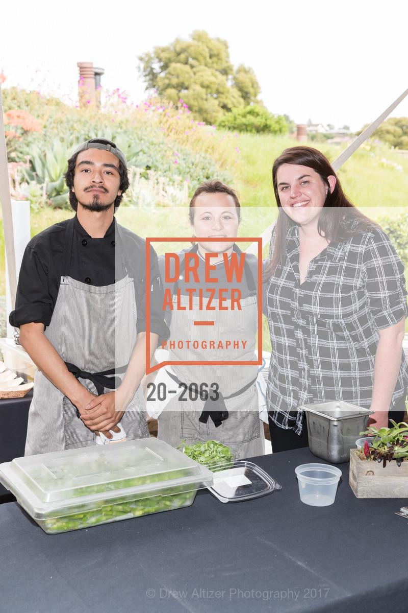 Jesus Campos, Casey van Voorhis, Lauren Cartwright, Great Chefs and Wineries, Peacock Gap, April 22nd, 2017
