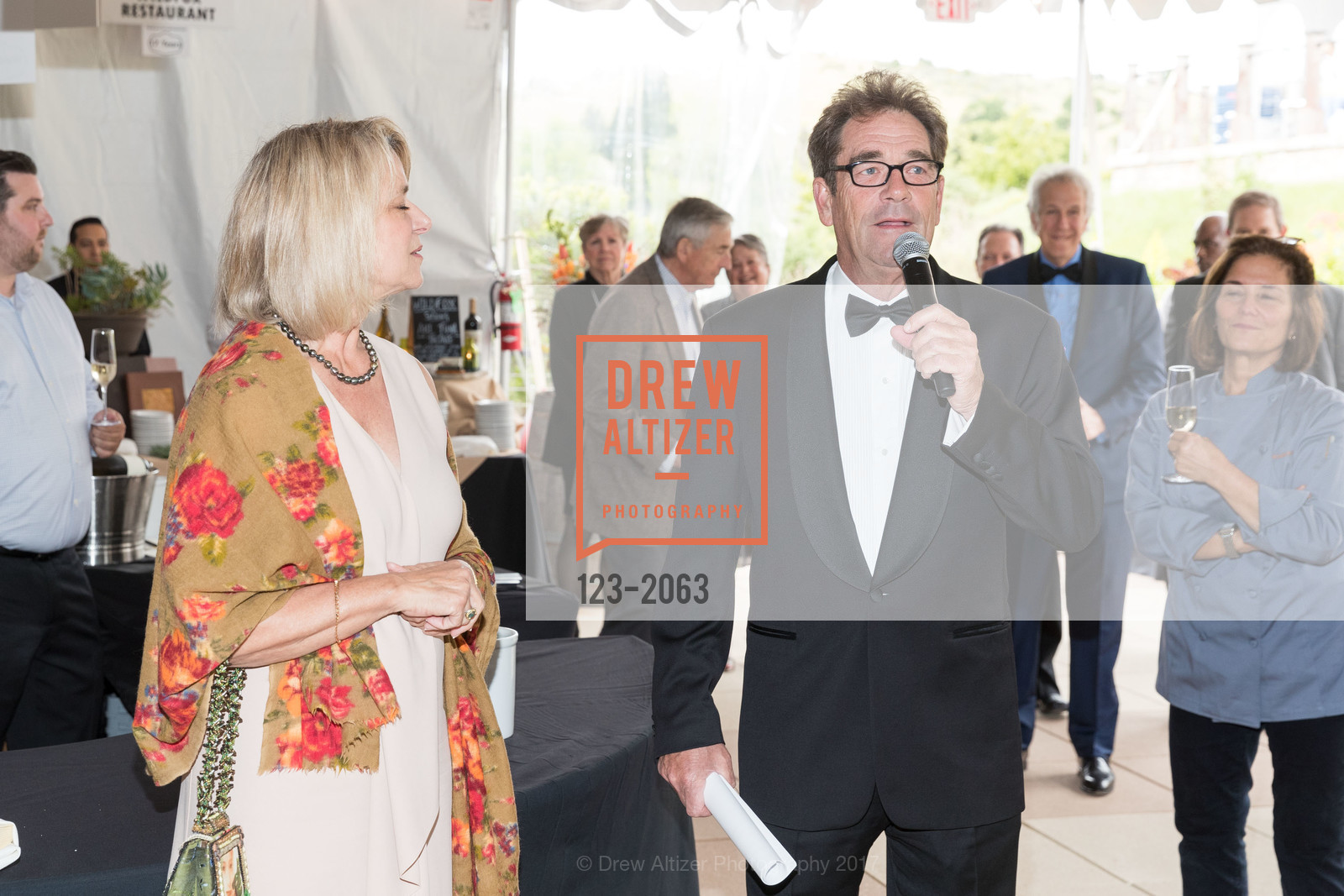 Nancy Dow Moody, Huey Lewis, Great Chefs and Wineries, Peacock Gap, April 22nd, 2017