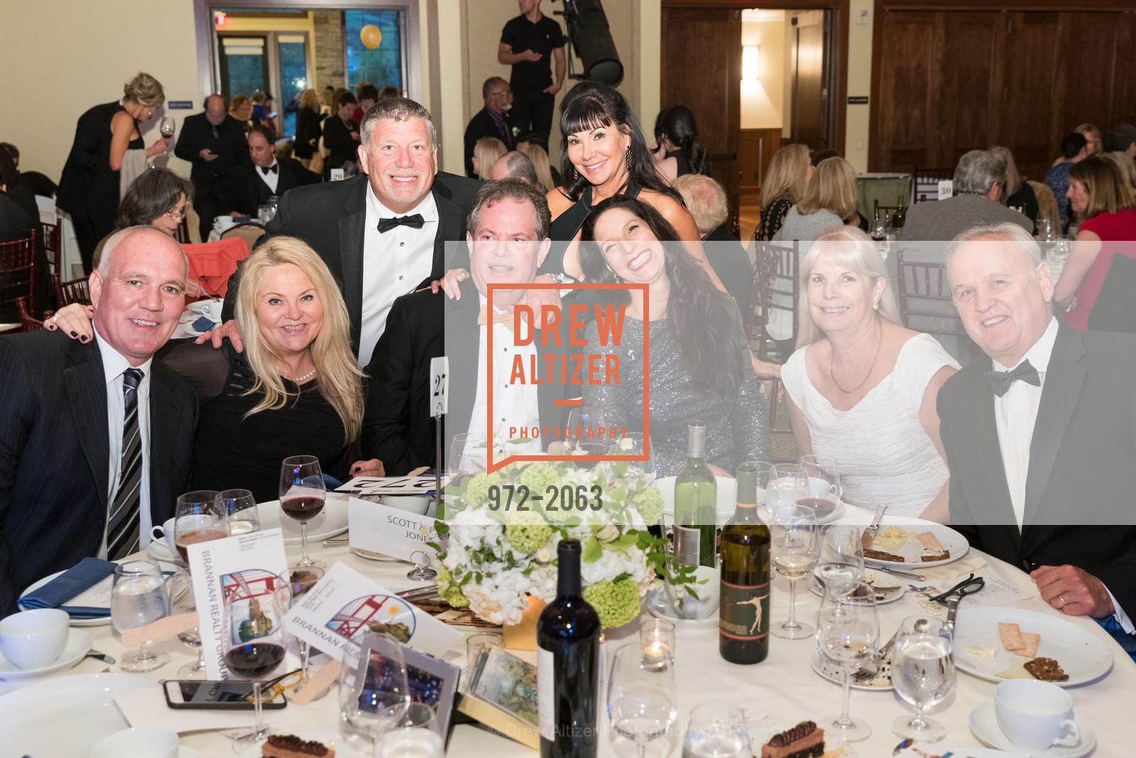 Tim Coleman, Carina Coleman, Tom Timmer, Maria Chapman, Scott Jones, Julie Jones, Marty Roach, Jim Roach, Great Chefs and Wineries, Peacock Gap, April 22nd, 2017