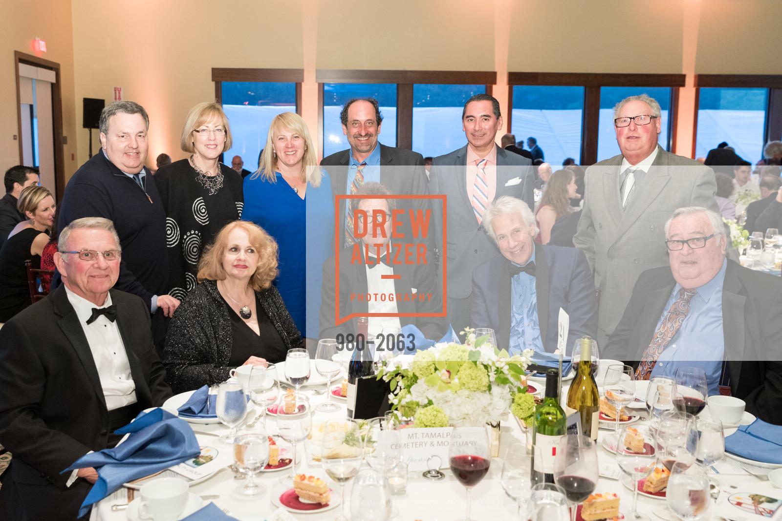 Robert Romano, Jill Romano, Huey Lewis, Jack Thornton, Bud E. Luv, Buck Kamphausen, Photo #980-2063