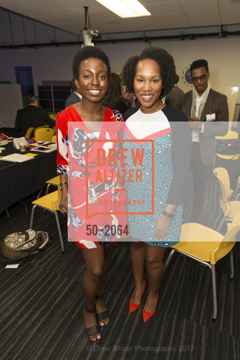 Bianca Okafor, Simone Davis, 3rd Annual Culture Shifting Weekend-Olympic Tech Talk, Mountain View, April 22nd, 2017