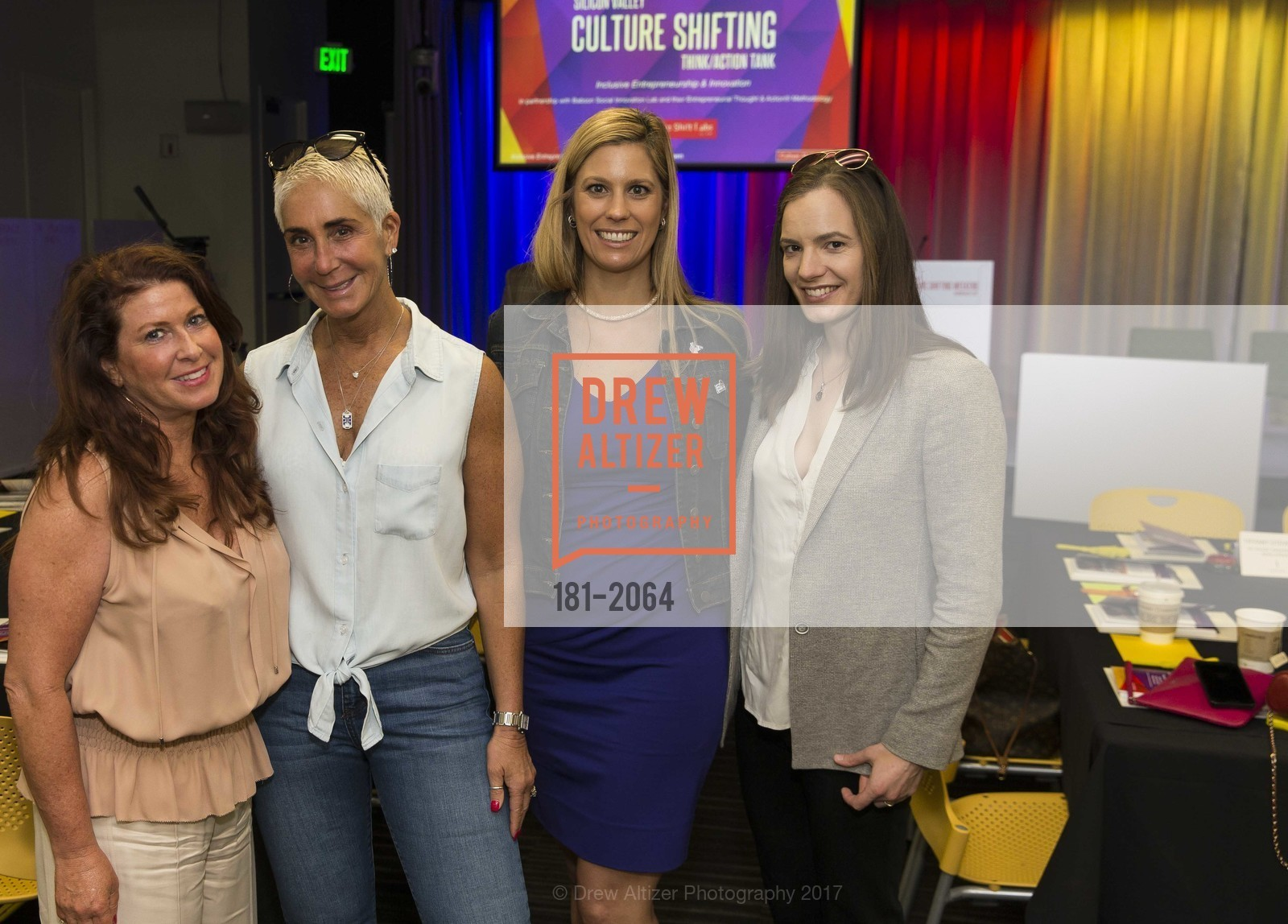 Andrea Hoffman, Robyn Streisand, Johnna Marcus, Arlene Nelson, 3rd Annual Culture Shifting Weekend-Olympic Tech Talk, Mountain View, April 22nd, 2017