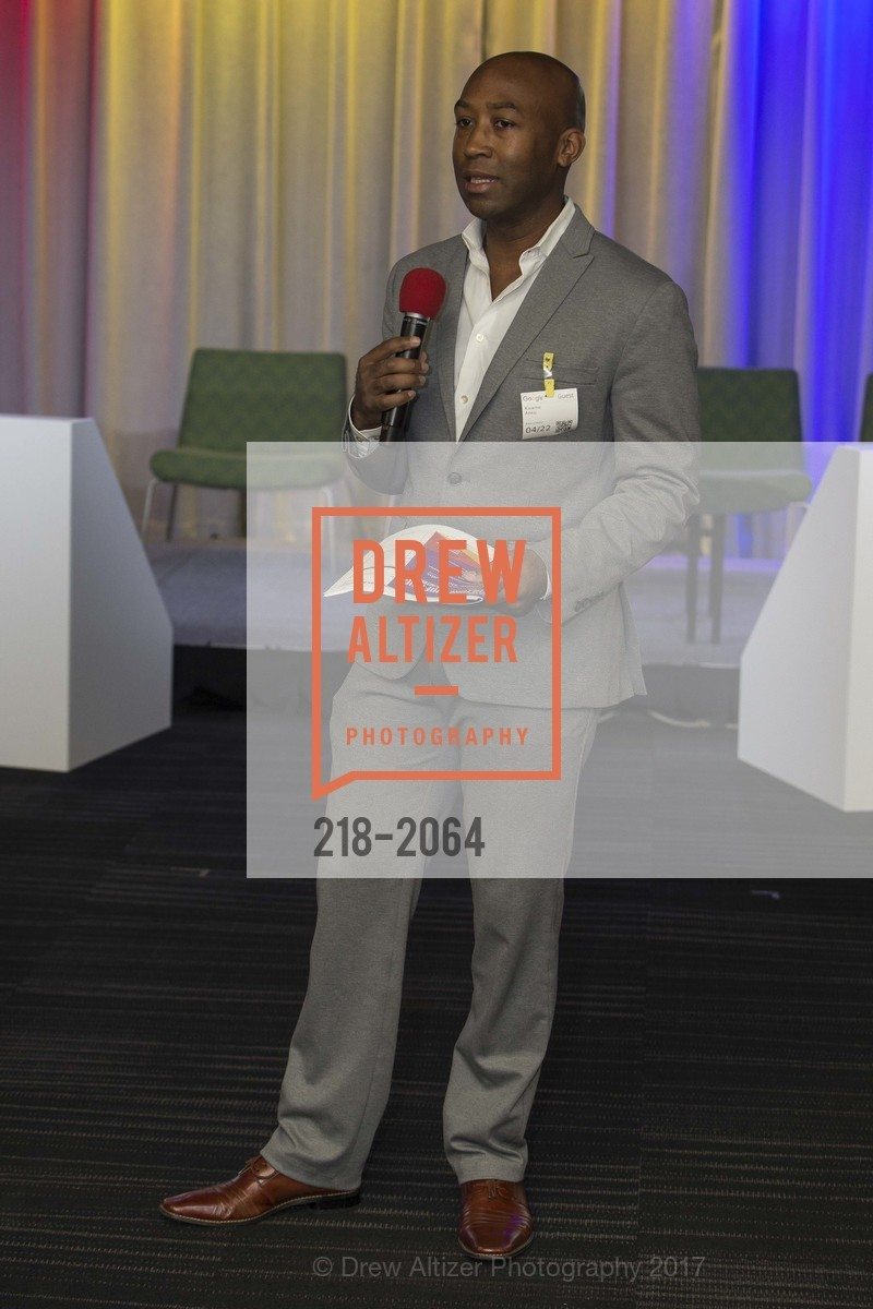 Kwame Anku, 3rd Annual Culture Shifting Weekend-Olympic Tech Talk, Mountain View, April 22nd, 2017