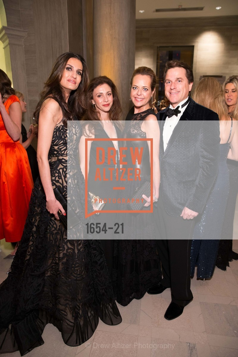 Leyla Alhosseini, Maryam Muduroglu, Charlot Malin, Gregory Malin, DIOR and CONDE NAST Sponsor the MidWinter Gala, March 26th, 2015,Drew Altizer, Drew Altizer Photography, full-service agency, private events, San Francisco photographer, photographer california