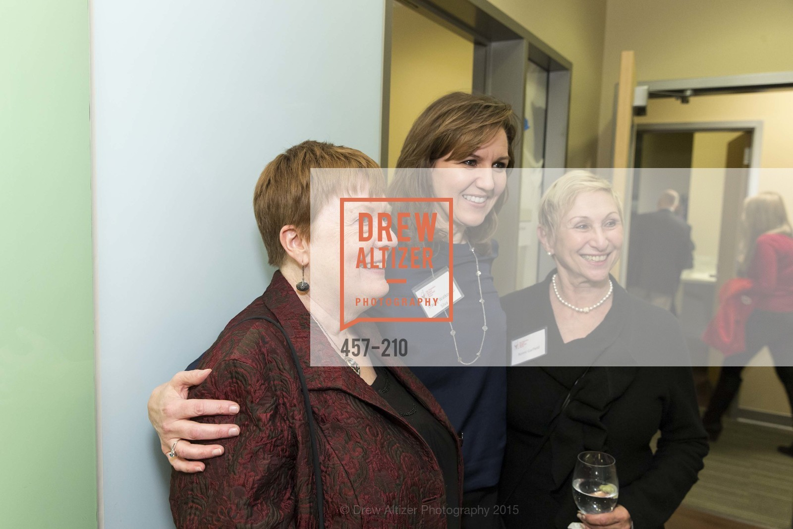 Lois Moore, Tracy Watkowski Silva, Ronni Garfield, Ronald McDonald House of San Francisco - Donor Appreciation Reception, UCSF Benioff Children's Hospital San Francisco, January 20th, 2015,Drew Altizer, Drew Altizer Photography, full-service agency, private events, San Francisco photographer, photographer california