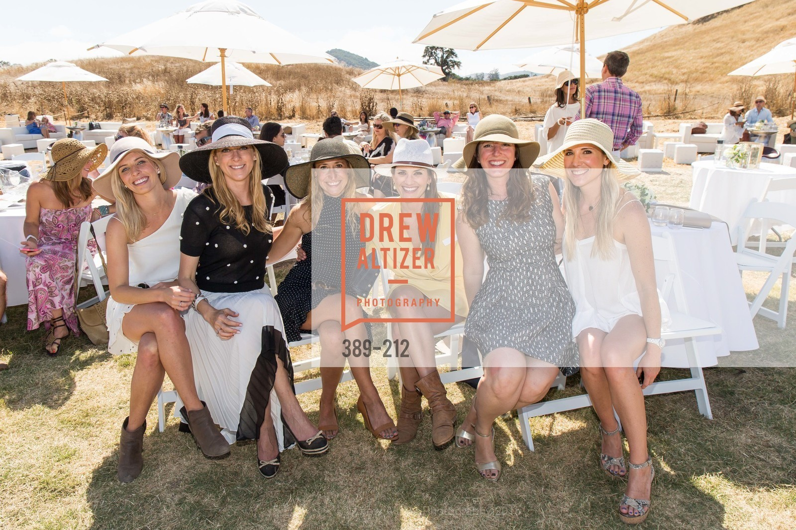 Kate Jorgensen, Lauren Wolfe, Meredith Kendall, Jennifer Hirsch, Samantha Hartwell, Stick & Ball Oyster Cup Polo Tournament, Cerro Pampa Polo Club, July 25th, 2015,Drew Altizer, Drew Altizer Photography, full-service agency, private events, San Francisco photographer, photographer california