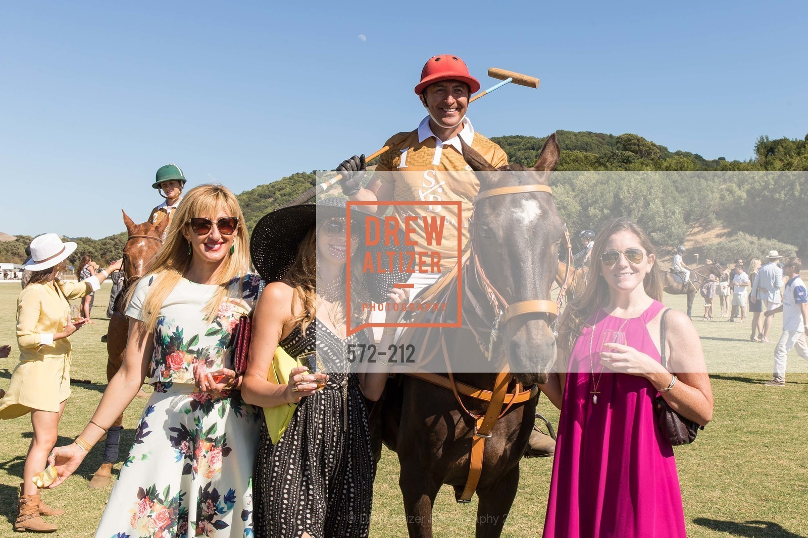 Teah Abbott, Brandy Anderson, Santos Arriola, Alex McGowan, Stick & Ball Oyster Cup Polo Tournament, Cerro Pampa Polo Club, July 25th, 2015,Drew Altizer, Drew Altizer Photography, full-service agency, private events, San Francisco photographer, photographer california