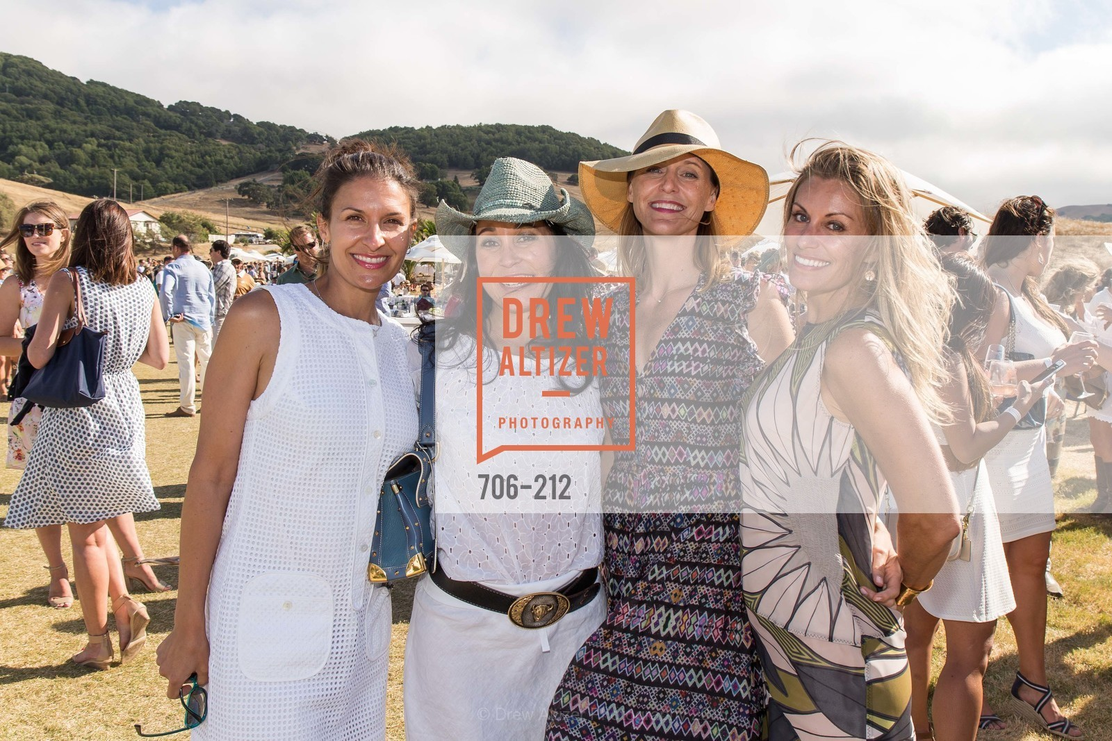 Dayna Desmond, Michelle Molfino, Kristen Evans, Rachel Brewster, Stick & Ball Oyster Cup Polo Tournament, Cerro Pampa Polo Club, July 25th, 2015,Drew Altizer, Drew Altizer Photography, full-service agency, private events, San Francisco photographer, photographer california