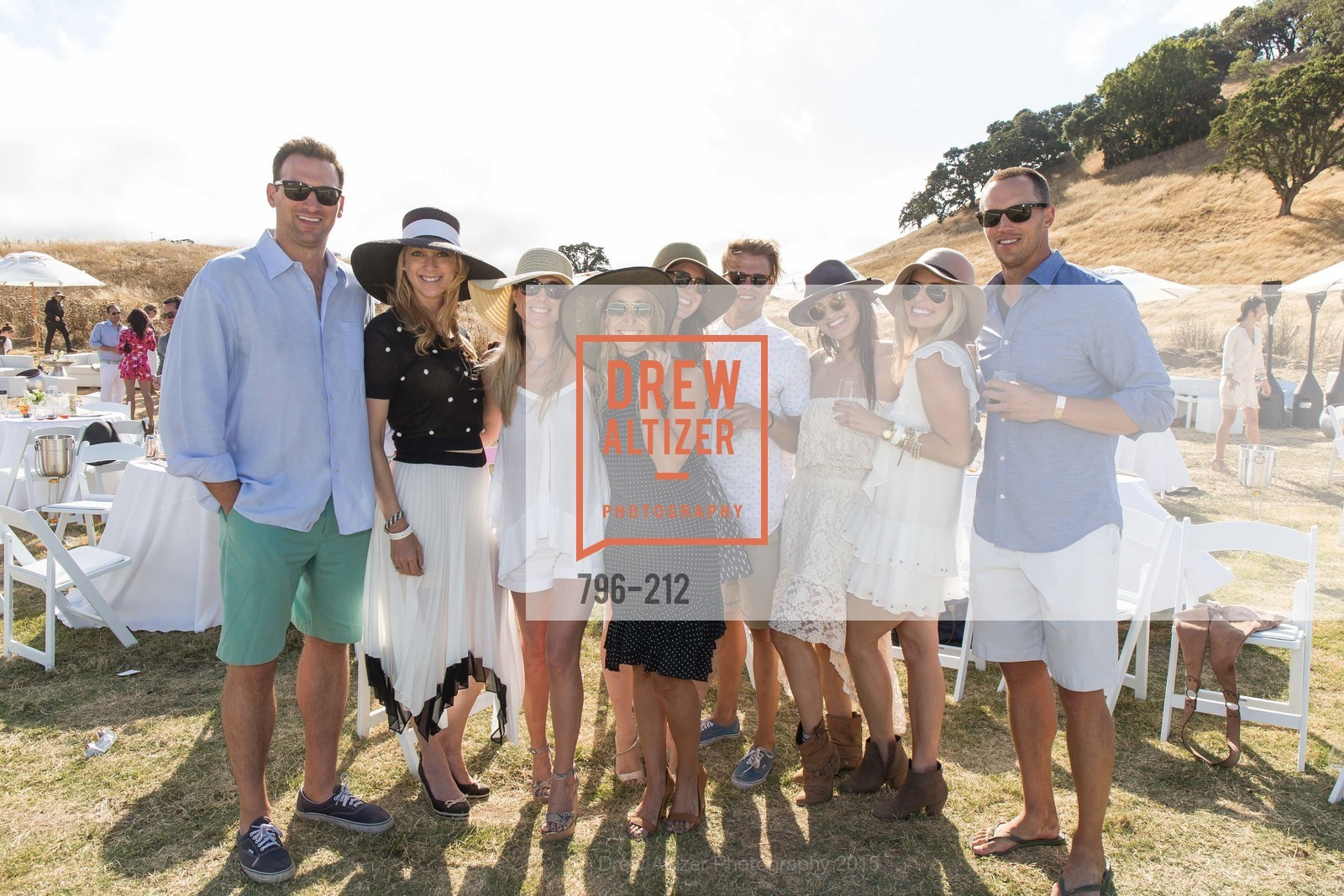 Connor Famulner, Lauren Wolfe, Samantha Hartwell, Jess Perez, Jen Hirsch, Brian Henson, Meredith Kendall, Shane Lyman, Stick & Ball Oyster Cup Polo Tournament, Cerro Pampa Polo Club, July 25th, 2015,Drew Altizer, Drew Altizer Photography, full-service agency, private events, San Francisco photographer, photographer california