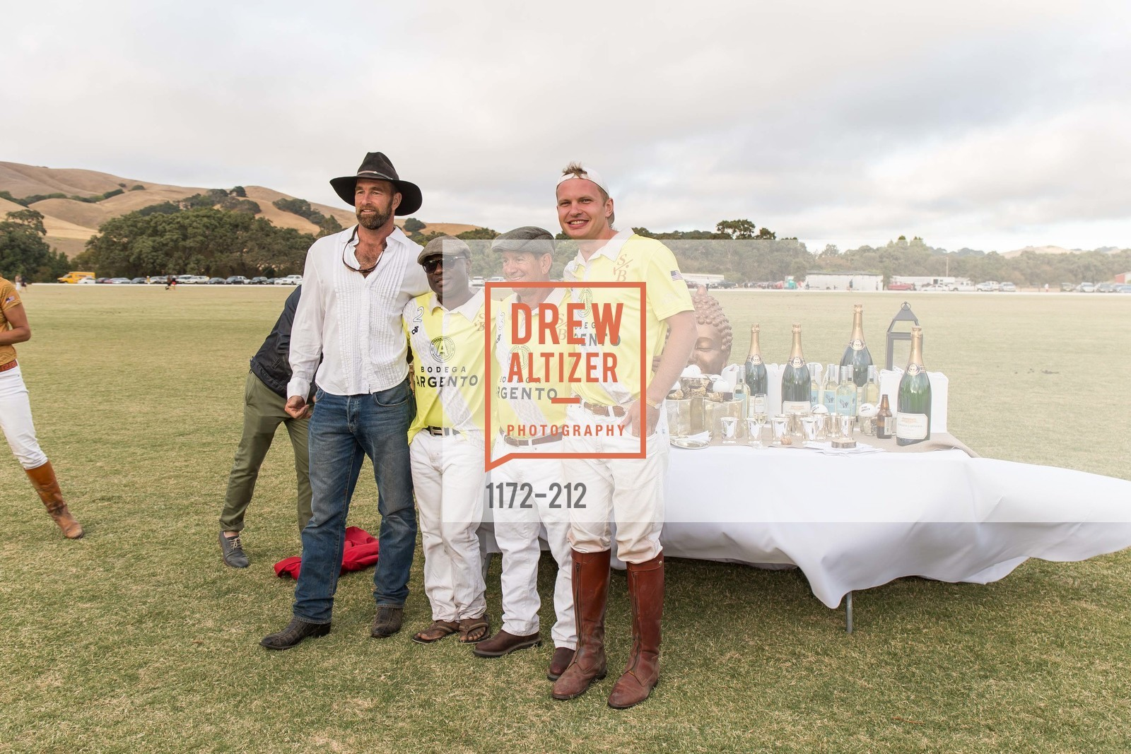 Hearst Welborn, Akin Sotomi, Rob Darakhshan, Ross Caton, Stick & Ball Oyster Cup Polo Tournament, Cerro Pampa Polo Club, July 25th, 2015,Drew Altizer, Drew Altizer Photography, full-service agency, private events, San Francisco photographer, photographer california