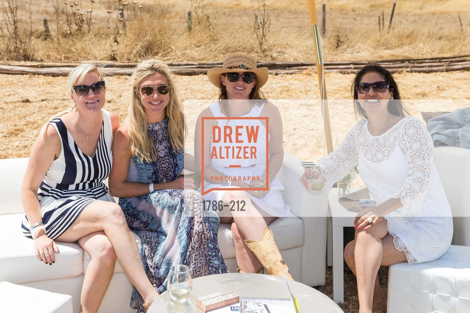 Blaire Palmer, Jacqueline Hawk, Jackie Cartwright, Patty Sanchez, Stick & Ball Oyster Cup Polo Tournament, Cerro Pampa Polo Club, July 25th, 2015,Drew Altizer, Drew Altizer Photography, full-service agency, private events, San Francisco photographer, photographer california